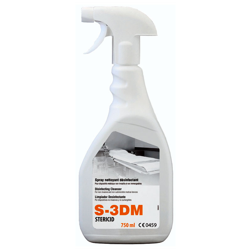 désinfectant spray