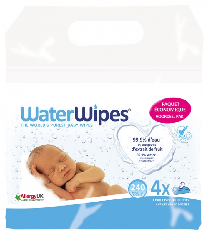 lingettes waterwipes
