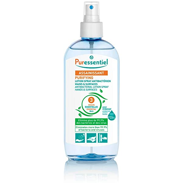 spray antibactérien puressentiel