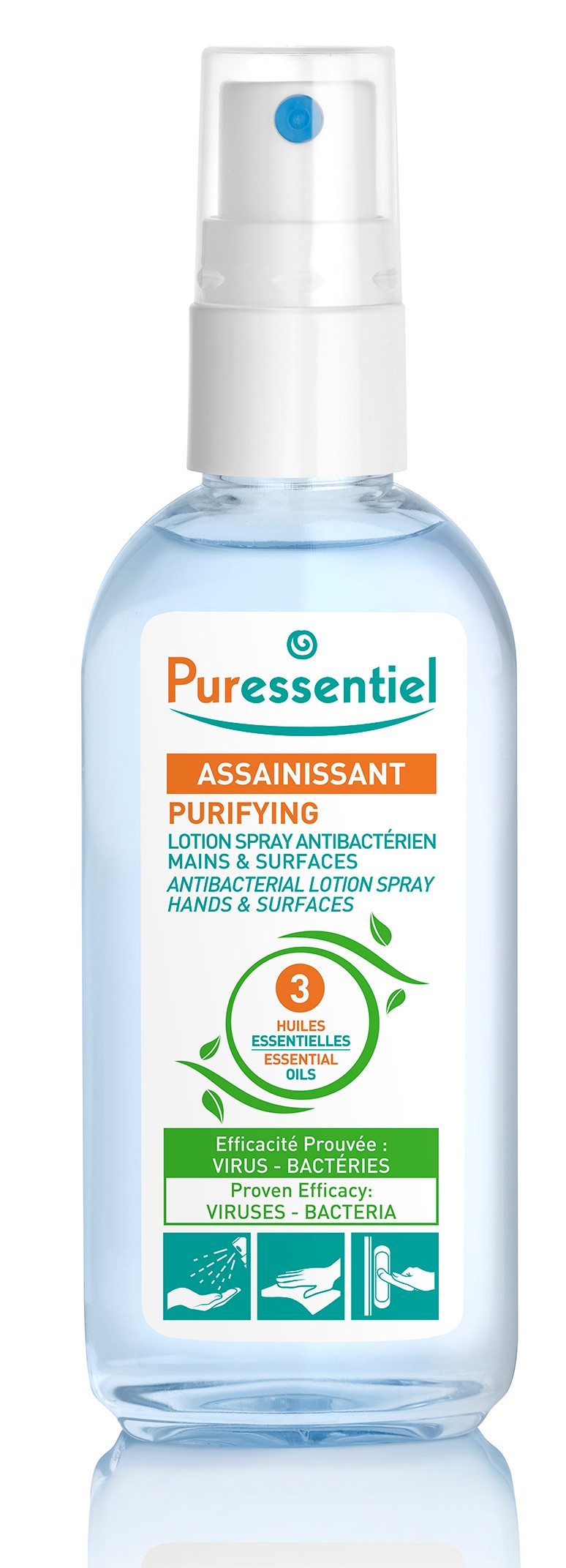 spray antibactérien
