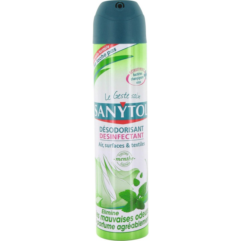 spray désinfectant sanytol